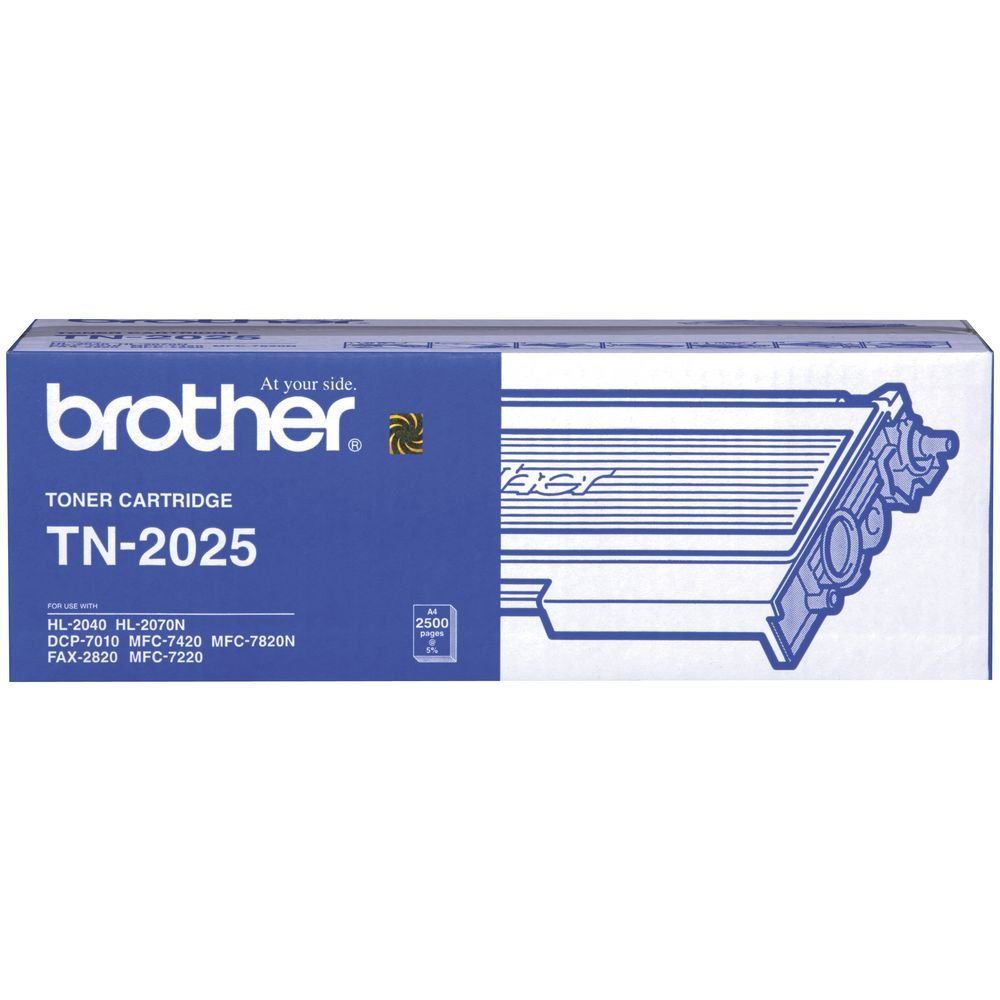 Brother TN-2025 Toner Cartridge (2,500 PGs)
