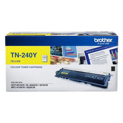 Brother TN-240Y Yellow Toner (1,500 PGs)