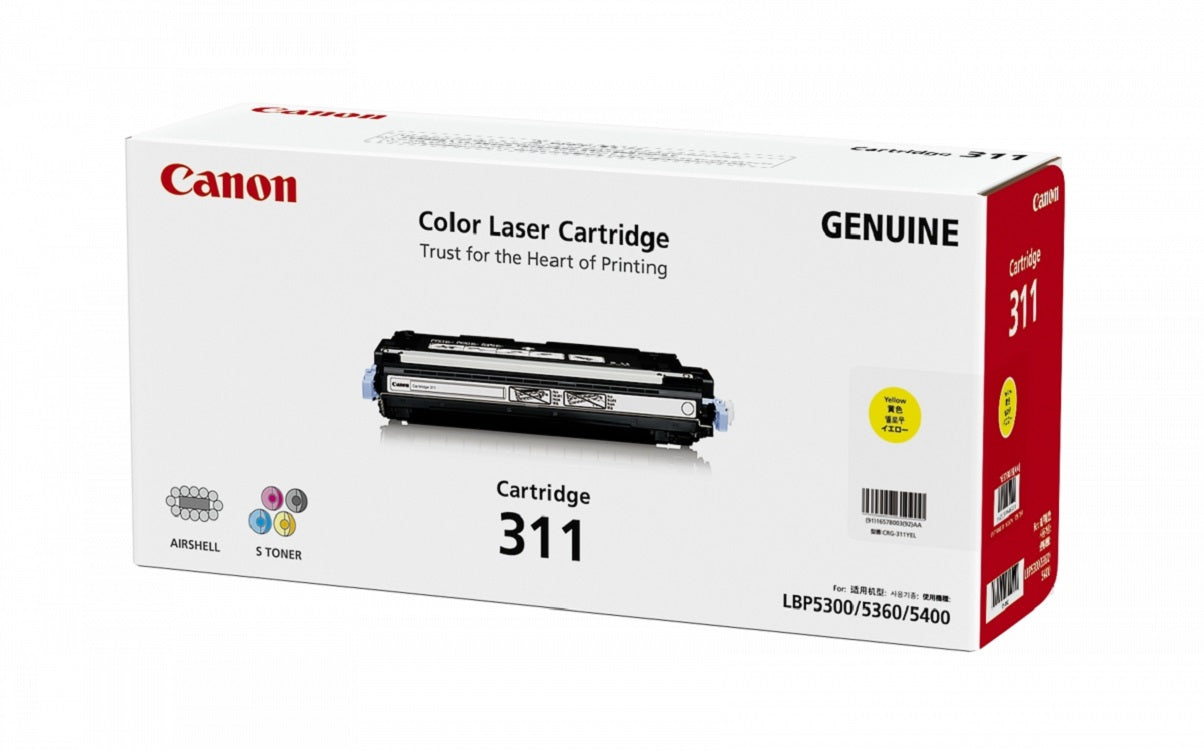 Canon Cartridge 311 (Y) LBP-5300/5360 (Yellow)(6K)