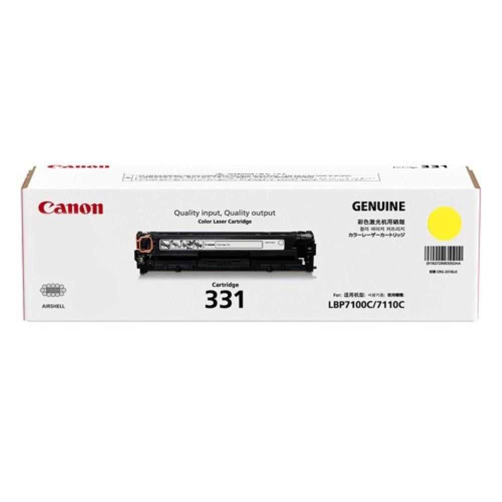 Canon Cartridge 331 Yellow Toner LBP7100CN/7110CW (1500 PGs)