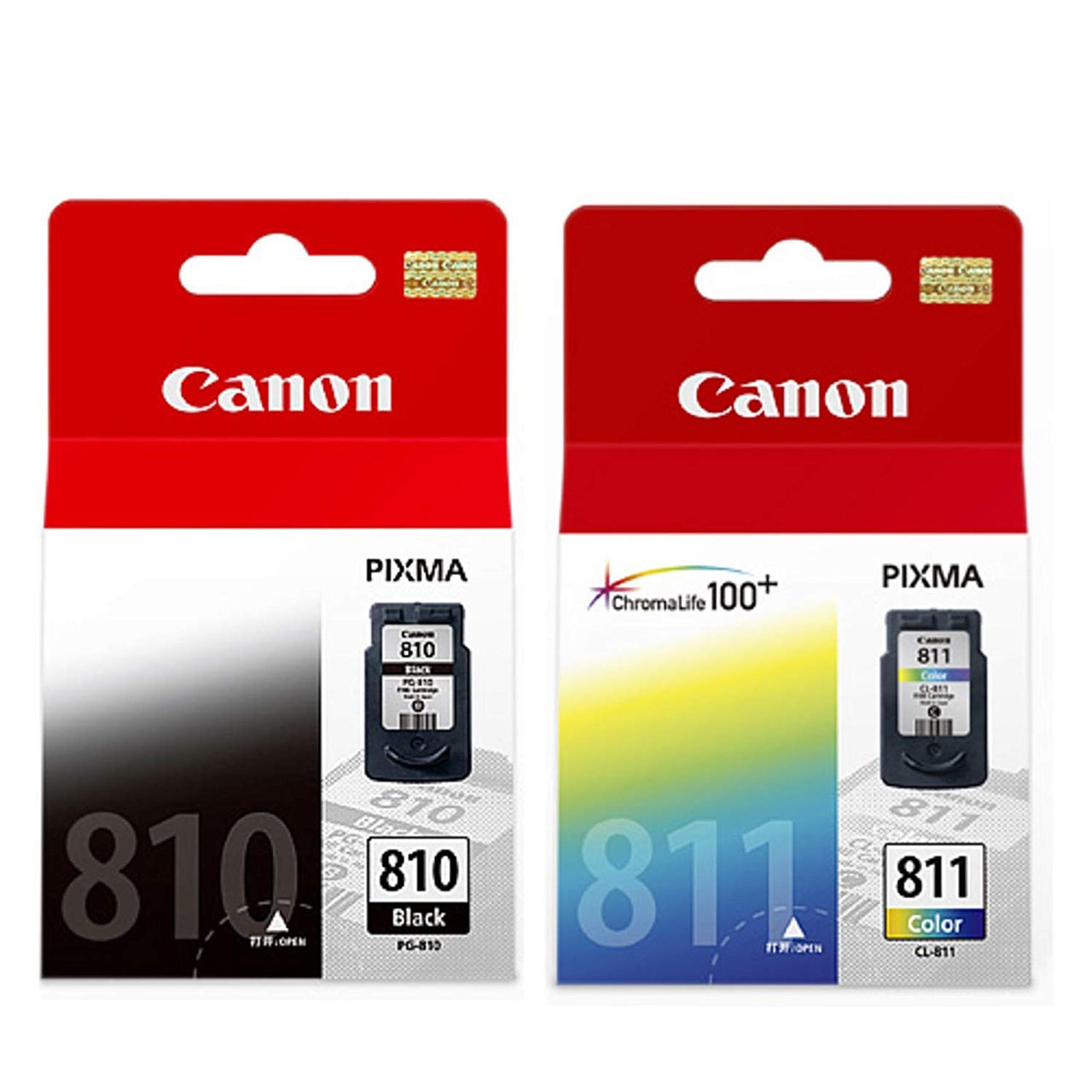 Canon PG810 + CL811 Value Pack