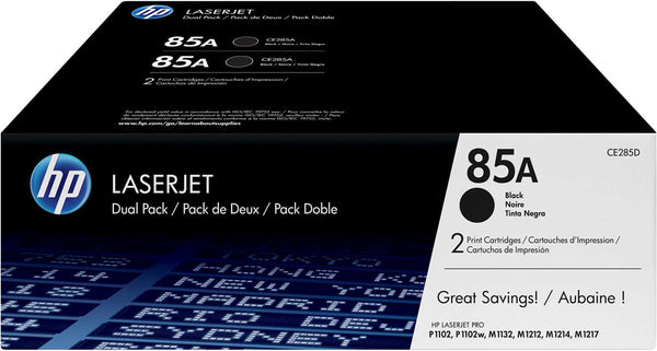 HP Laserjet CE285A Dual Pack Print Cartridge CE285AD