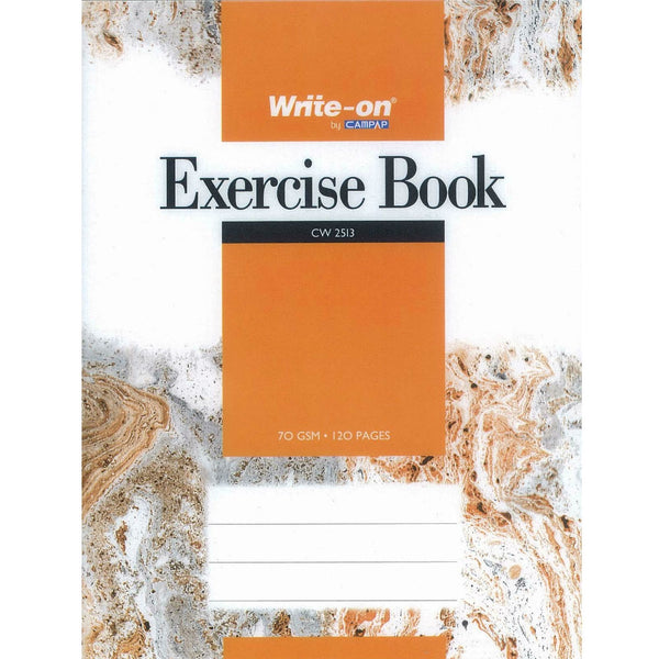 Campap PP Cover Exercise Book F5 70G 120P (Orange) CW2513