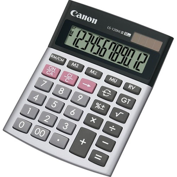 Canon Calculator 12-Digit LS-120Hi III - White