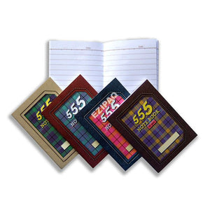 Captain 555 Note Book