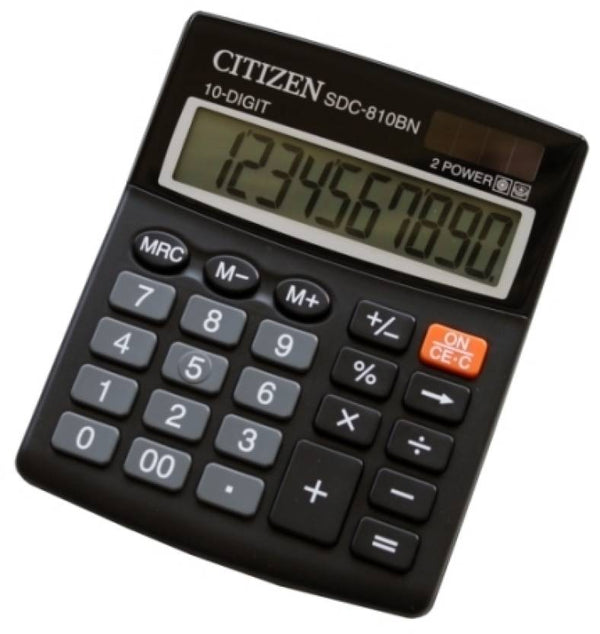 Citizen Calculator 10 Digit SDC-810BN