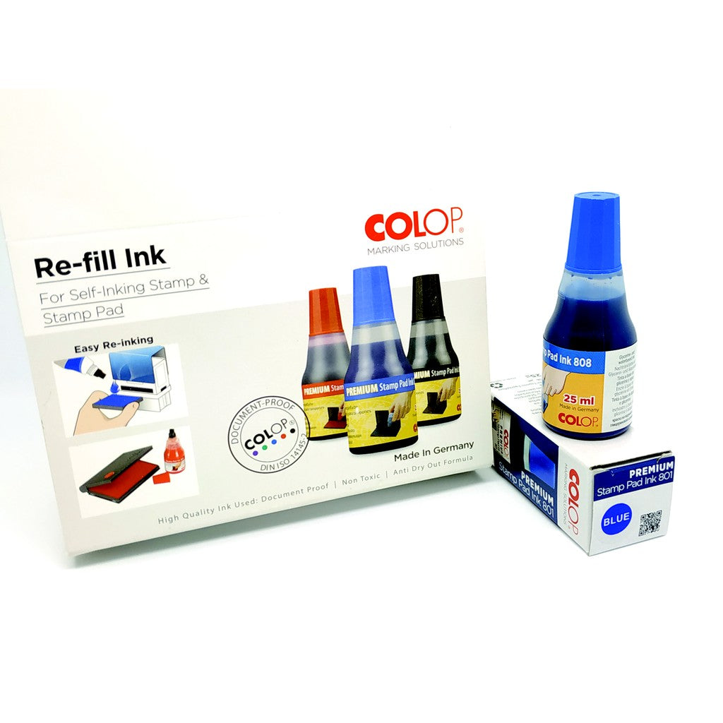Colop Colour Ink Refill (Bottle)