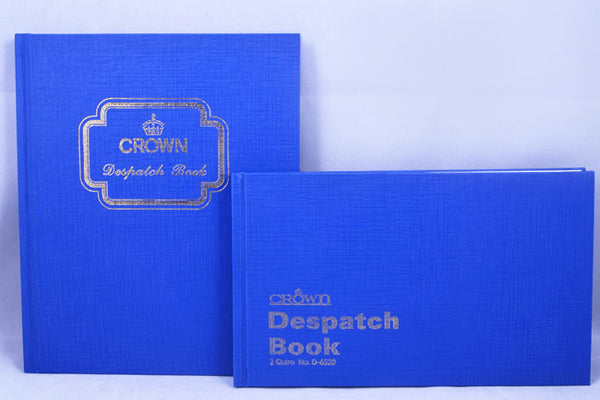 Crown Despatch Book