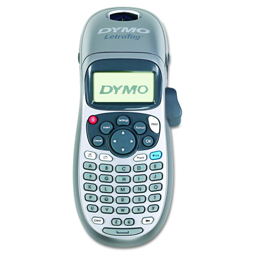Dymo Letratag Personal Label Maker LT-100H Silver