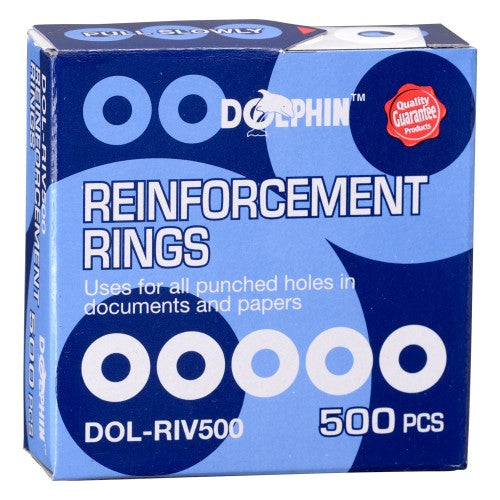 Dolphin Reinforcement Ring 500'S/Box White