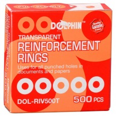 Dolphin Reinforcement Ring 500'S/Box Clear