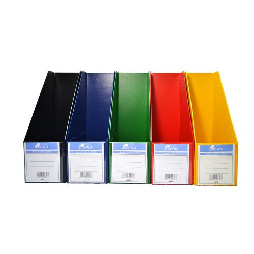 EMI File Box File (PVC) 4'' Mix Colour