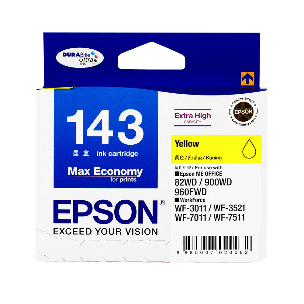 Epson T143490 (T143) ME Office 960FWD (Yellow) (S-Size, High Cap)