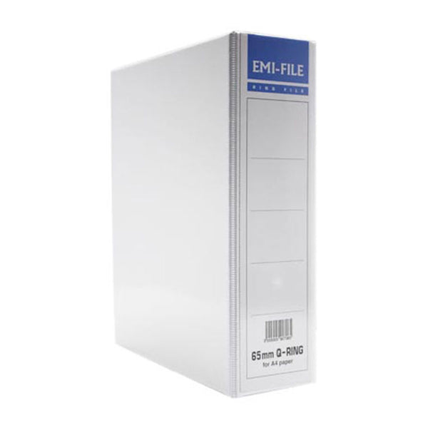 EMI 65MM A4 2D PVC Ring File