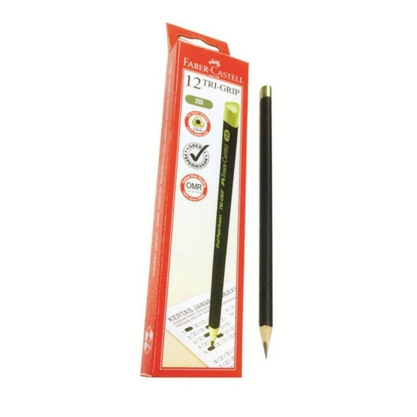 Faber Castell Tri-Grip 2B Pencil