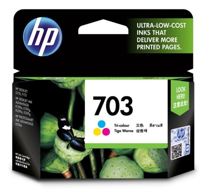 HP 703 Tri-color Ink Cartridge CD888AA