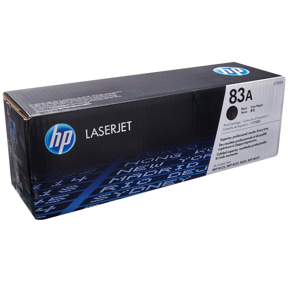 HP Laserjet 83A Black Toner Cartridge CF283A