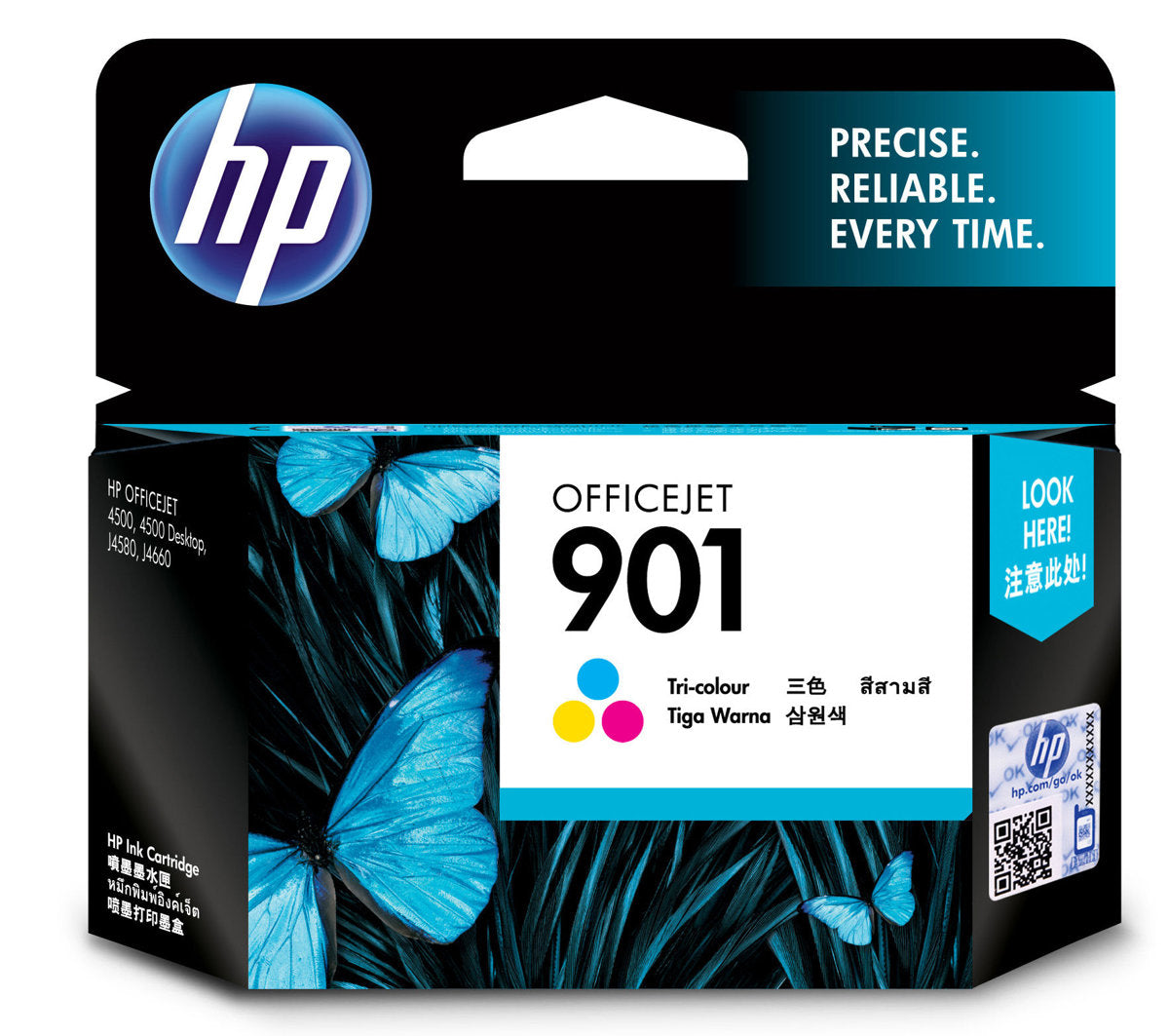 HP CC656AA No 901 Officejet J4660/4624 (Tricolour)