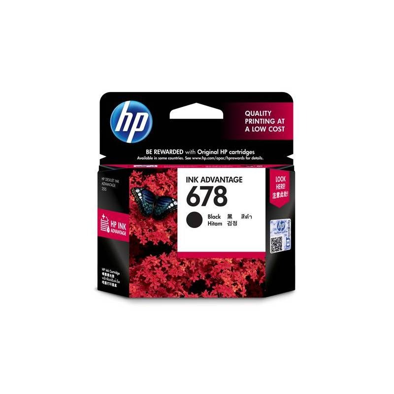 HP CZ107AA No 678 Black Ink Cartridge