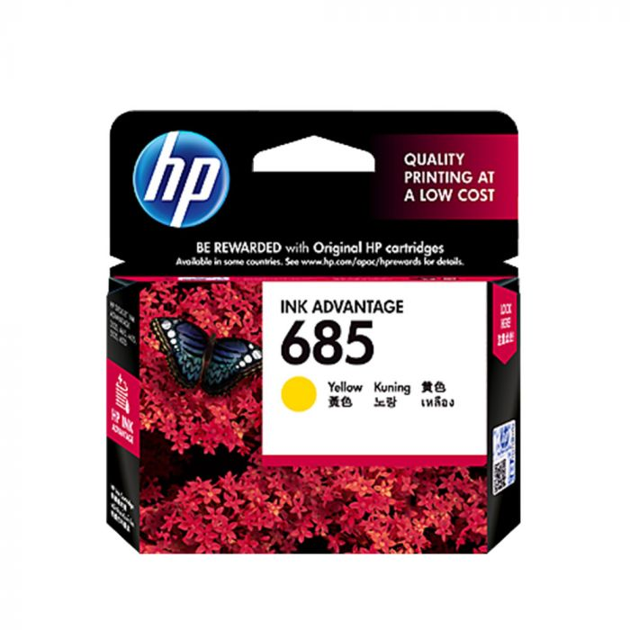 HP CZ124AA No 685 Yellow Ink Cartridge