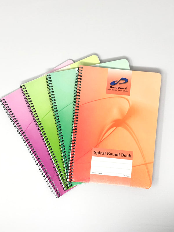 Dot Down Spiral Bound Book 50 Sheets