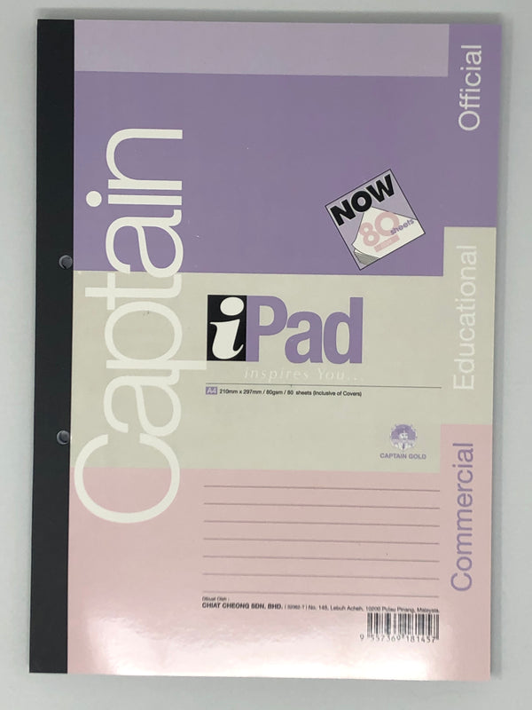 Captain Ipad Test Pad 80 Sheets