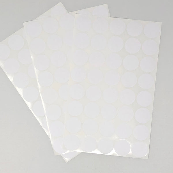 Antelope Self-Adhesive Labels Round White