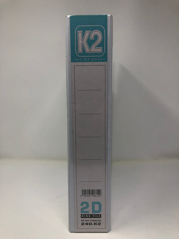 K2 40MM 2D PVC Ring File