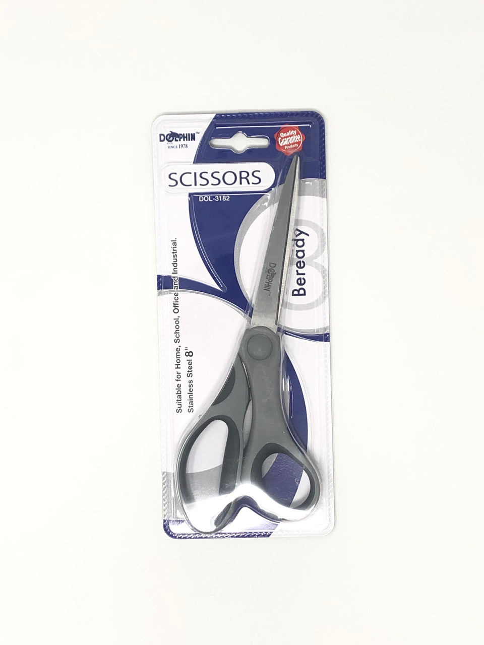 Dolphin Scissors (Office & School) 8''