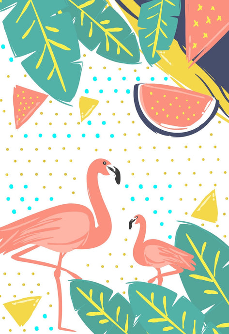 2018 Planner & Notebook - Flamingo
