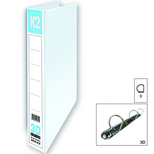 K2 40MM 3D PVC Ring File