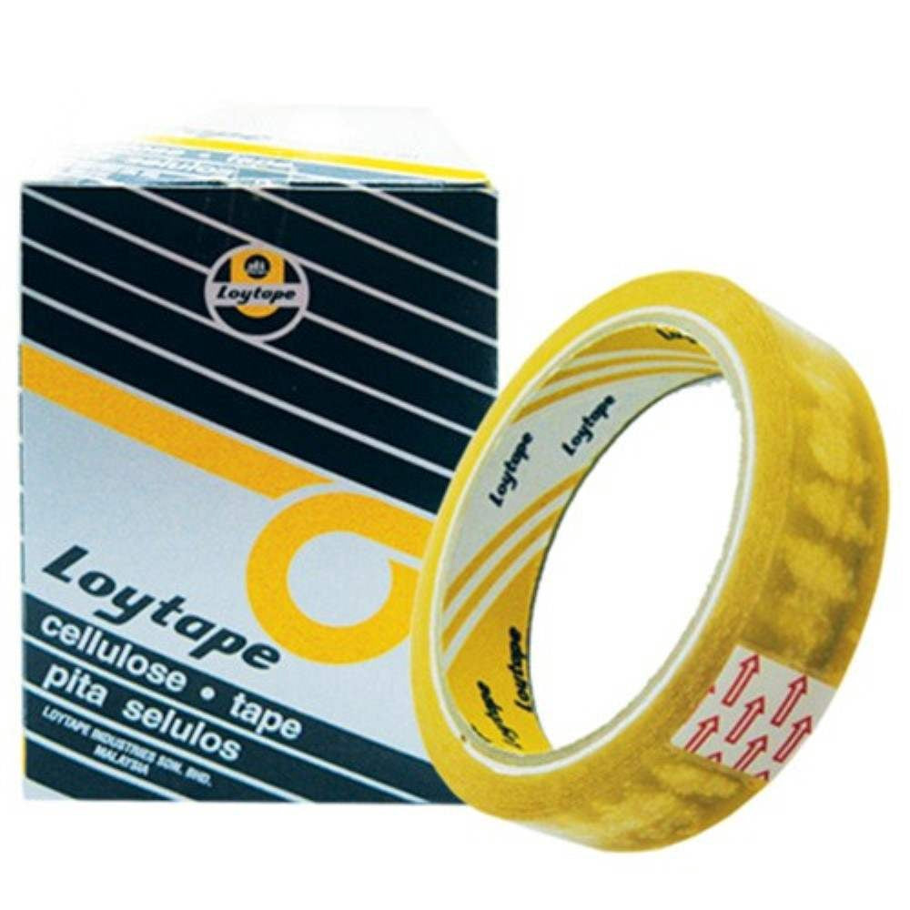 Loytape Cellulose Tape 24MM x 40M (Big)