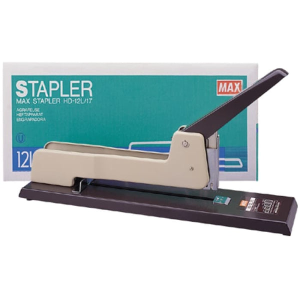 Max HD-12L/17 Heavy Duty Stapler