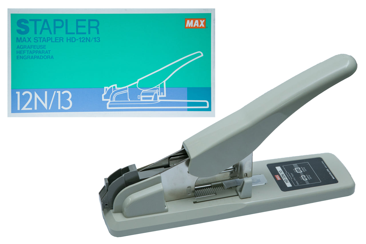 Max HD-12N/13 Heavy Duty Stapler