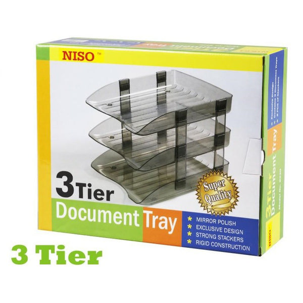 Niso 3-Tier Document Tray