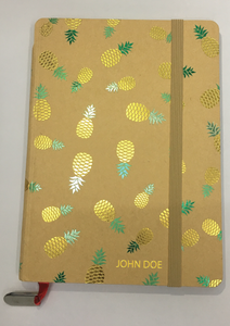 2018 Planner & Notebook - Pineapple