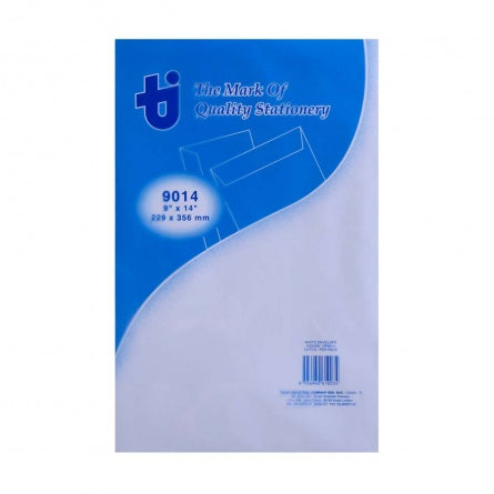 Dolphin Super White Envelope 9'' x 14'' (20pcs/pack)