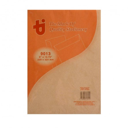"Dolphin Super Brown Manila Envelope 9'"" x 12.75"" (20pcs/pack)"