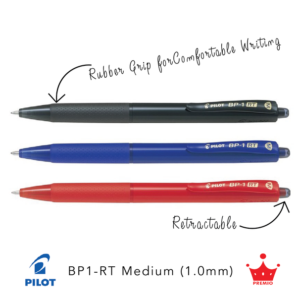 Pilot BP-1RT Ballpoint Pen (Medium, 1.0mm)