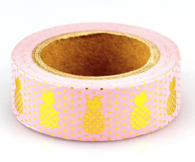 Pink Pineapple Washi Tape