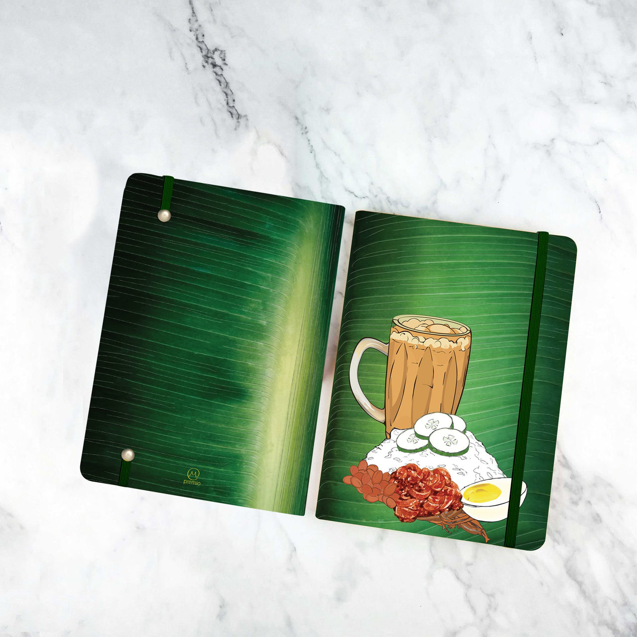 Nasi Lemak 2020 Planner Only (Ruled Lined Pages)