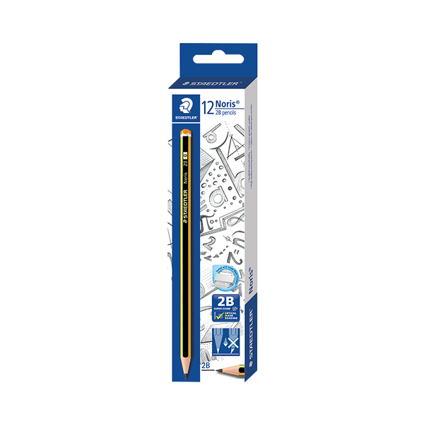 Staedtler Noris 120 2B Pencil (12PCs/Box)