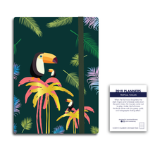Tropical Toucan -- 2019 Planner & Notebook