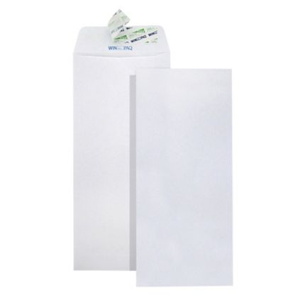 "Winpaq 100G White Envelope (Peel & Seal) 4.5"" x 9.75"" PEFC Certified 500'S WP4496P"