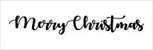 "Christmas Rubber Stamps 1"" x 3"""