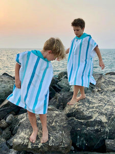 Quick Dry Microfiber Poncho - Women and kids (above 130 cm)