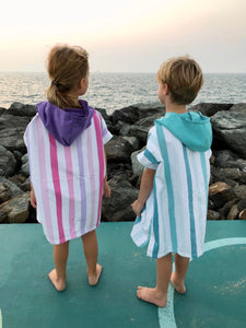 Quick Dry Microfiber Poncho - Kids (up to 130 cm)