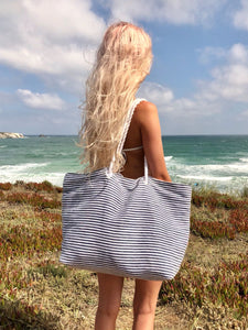 Rope Handle Beach Bag