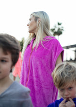 Zipper Poncho - Women and kids above 130 cm