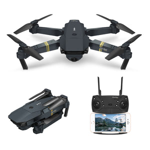 Quadcopter Drone with Wide-Angle HD Camera